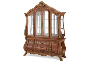 Chateau Beauvais Noble Bark China Cabinet