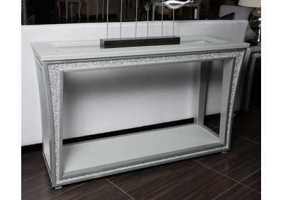Scotts Square Platinum Console Table