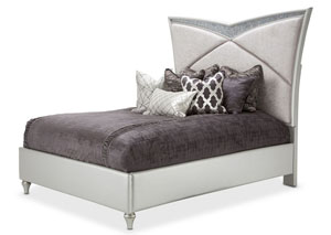 Image for Melrose Plaza Dove Upholstered Queen Bed