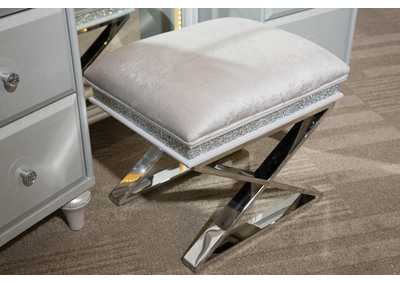 Image for Melrose Plaza Dove Vanity Bench