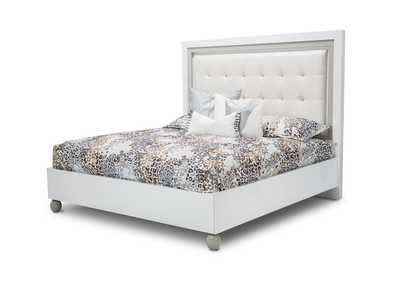 Image for Sky Tower White Cloud Eastern King Platform Bed