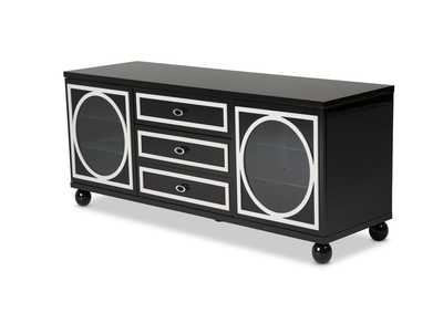 Sky Tower Black Ice TV Cabinet