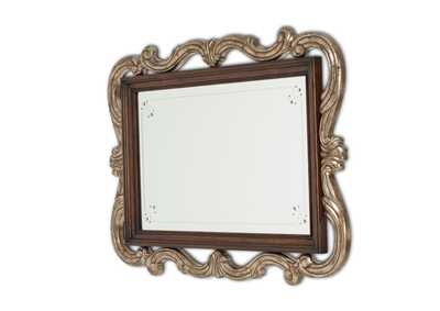 Platine de Royale Light Espresso Wall Mirror