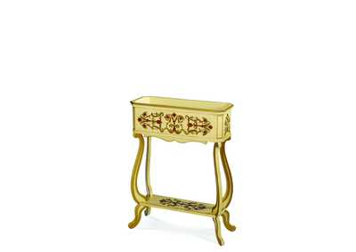 Image for Discoveries Accent Table, White Planter