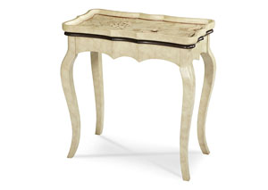 Image for Discoveries White Rectangular Accent Table