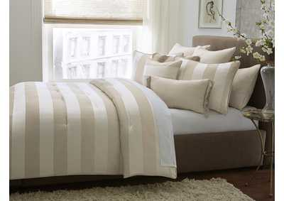 Image for Amalfi 9 Piece Sand Queen Comforter Set