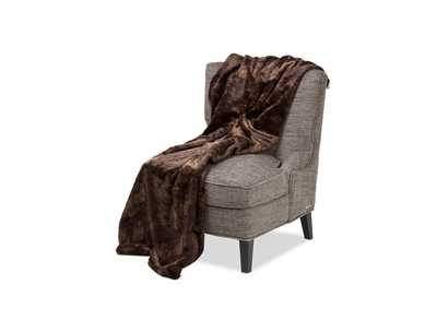Bailey Dark Brown Throw