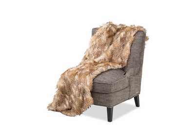 Breckenridge Caramel Throw