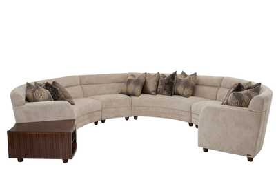 Cloche Bourbon Sectional Sofa - Grp2/Opt1
