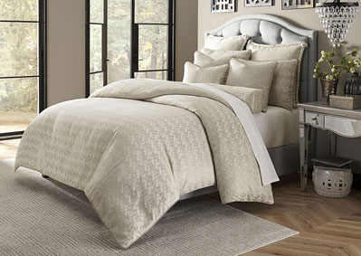 Carlyle Platinum 10 Piece King Comforter Set