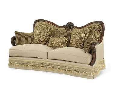 Image for Chateau Beauvais Noble Bark Wood Trim Sofa
