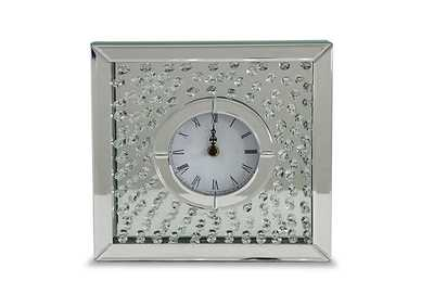 Image for Montreal Crystal Table Clock w/Crystal Accents
