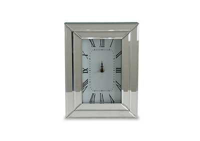 Image for Montreal Grey Rectangular Table Clock