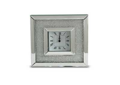 Image for Montreal Grey Square Table Clock