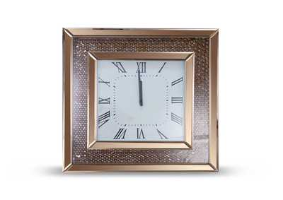 Image for Montreal Rose Gold Square Clock