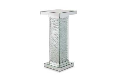Montreal Accent Table w/Crystals, Medium