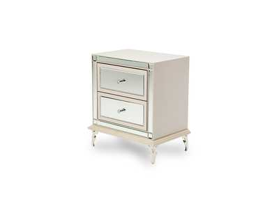Image for Hollywood Loft Pearl Upholstered Nightstand