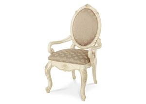 Image for Lavelle White Arm Dining Chair
