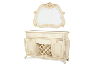 Lavelle Blanc Sideboard & Mirror