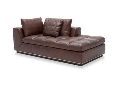 Rosato Cordovan Leather LAF Chaise