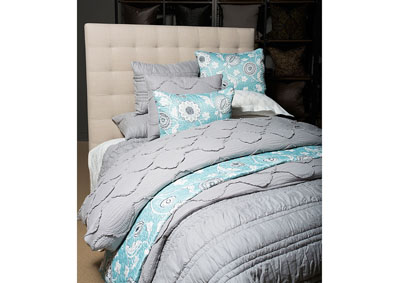 Image for Olivia Dove 3 pc. King Quilt Set