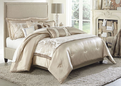 Image for Palermo Sand 10 pc. King Comforter Set
