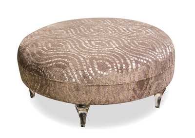 Image for Studio Grey Round Cocktail Ottoman
