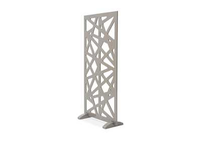 Image for Trance Grey Decorative Room Divider