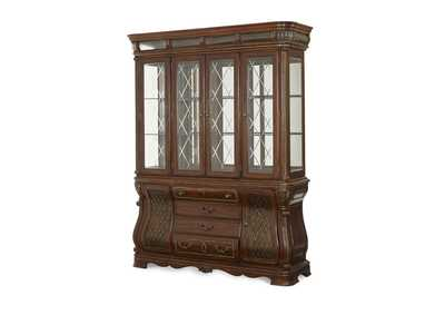 The Sovereign Soft Mink China Buffet Cabinet (2 Pc)