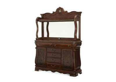 The Sovereign Soft Mink Sideboard w/Bar Top