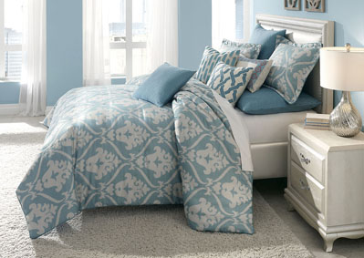 Image for Tucson Turquoise 10 pc. King Comforter Set