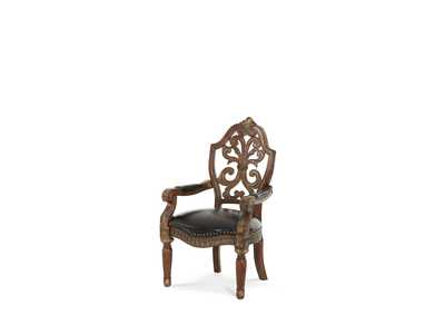 Villa Valencia Classic Chestnut Writing Desk Chair