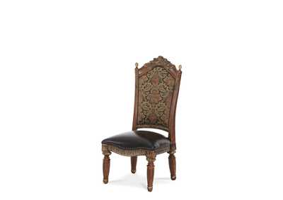 Image for Villa Valencia Classic Chestnut Side Dining Chair [2/ctn]