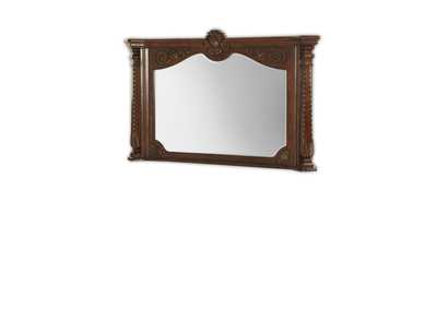 Windsor Court Vintage Fruitwood Fireplace Mirror