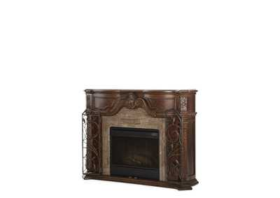 Windsor Court Vintage Fruitwood Fireplace