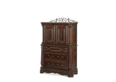 Image for Windsor Court Vintage Fruitwood Gentlemen's Chest
