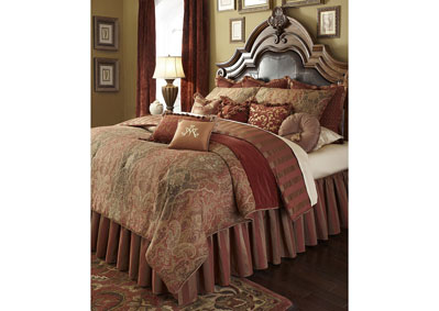 Image for Woodside Park Spice 12 pc. Queen Comforter Set
