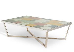 Image for Multicolor Retangular Cocktail Table