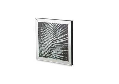 Montreal Square Mirror Framed Wall D