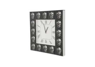 Image for Montreal Grey Square Clock
