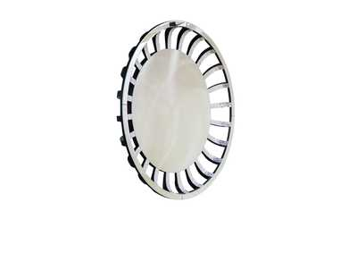 Montreal Round Wall Mirror w/Crystal & Glass Sunburst