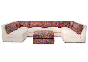 Image for Sacramento Cream Sectional