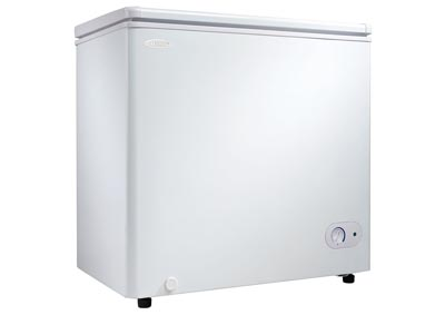 5.5 Cu. Ft. Chest Freezer - White