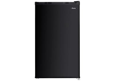 Energy Star 3.2 Cu. Ft. Compact Refrigerator/Freezer - Black
