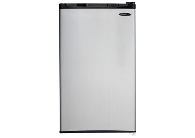 Energy Star 3.2 Cu. Ft. Compact Refrigerator/Freezer with Spotless Steel Door