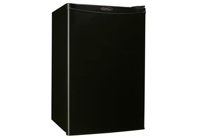 Designer Energy Star 4.4 Cu. Ft. Compact Refrigerator/Freezer - Black