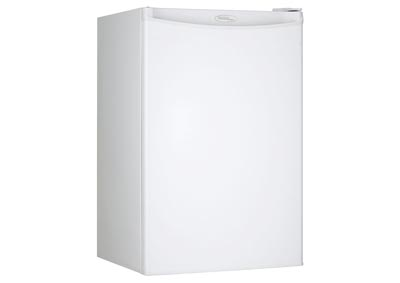 Designer Energy Star 4.4 Cu. Ft. Compact Refrigerator/Freezer - White