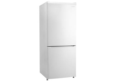 Energy Star 9.2 Cu. Ft. Refrigerator with Bottom-Mount Freezer - White