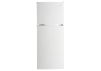 12.3 Cu. Ft. Frost-Free Refrigerator with Top-Mount Freezer - White