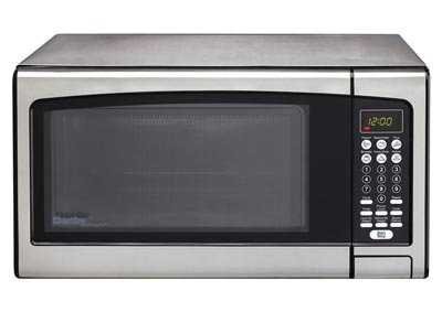 Designer 1.1 Cu. Ft. Microwave Oven in Stainless Steel
